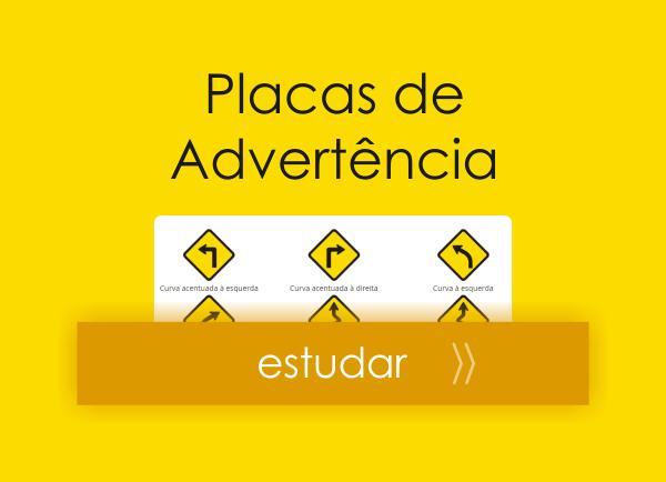 Placas de trânsito - placas de advertência - feat