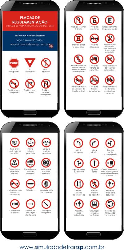 Placas de regulamentação - apostila mobile 2019 02