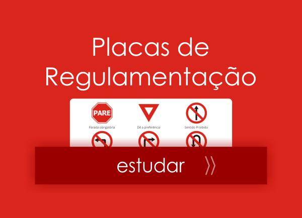 Placas de trânsito - placas de regulamentação