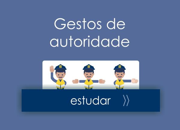 Placas de trânsito - gestos de autoridade - feat