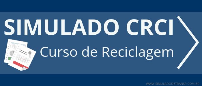 Simulado CRCI - Curso de Reciclagem