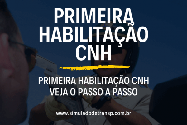 Primeira Habilitaçao CNH