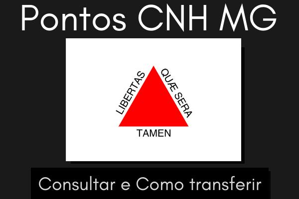 Pontos CNH MG – Consultar e como transferir