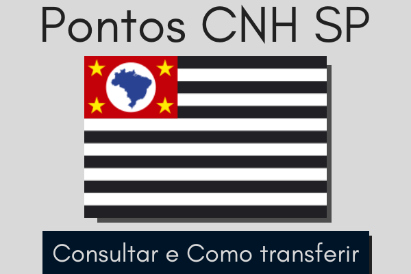 Pontos CNH SP – Consultar e como transferir