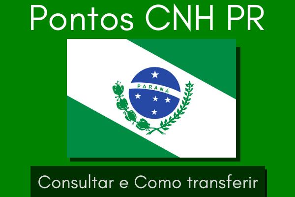Pontos da CNH PR