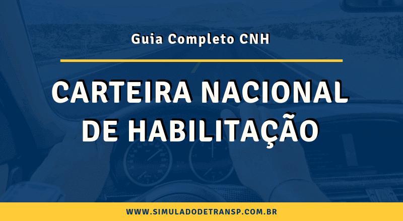 Carteira Nacional de Habilitação CNH